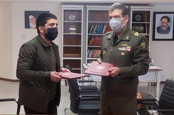 تفاهم نامه فدراسیون کشتی و اداره ورزش نیروهای مسلح امضا شد