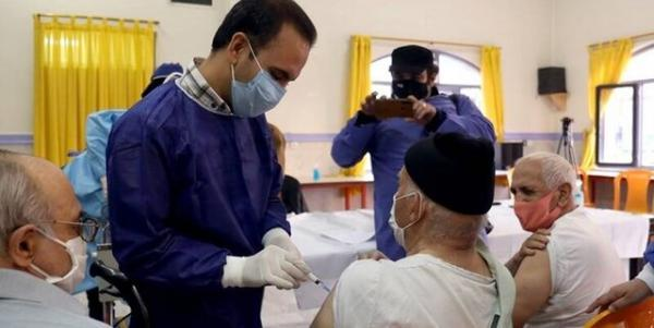 شروع واکسیناسیون کرونا در مراکز نگهداری سالمندان کرمانشاه