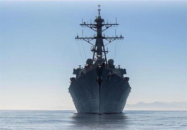 ورود یک ناوشکن آمریکایی به دریای سیاه