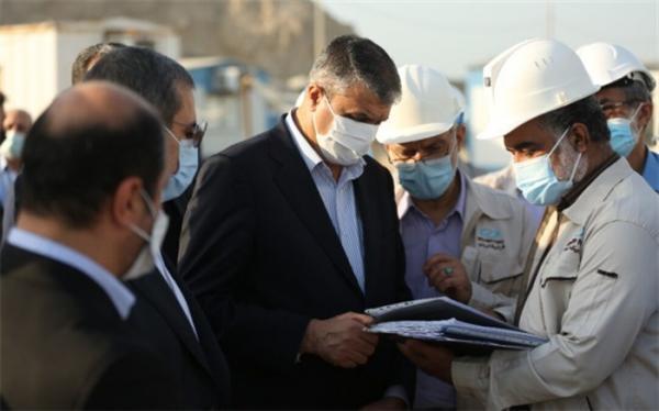 بازدید اسلامی از تأسیسات هسته ای اصفهان